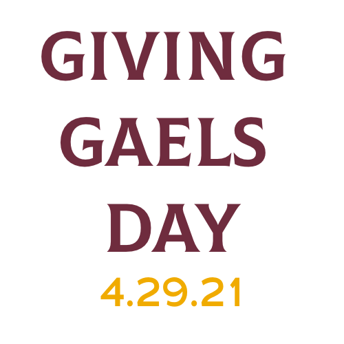 Giving Gaels Day logo