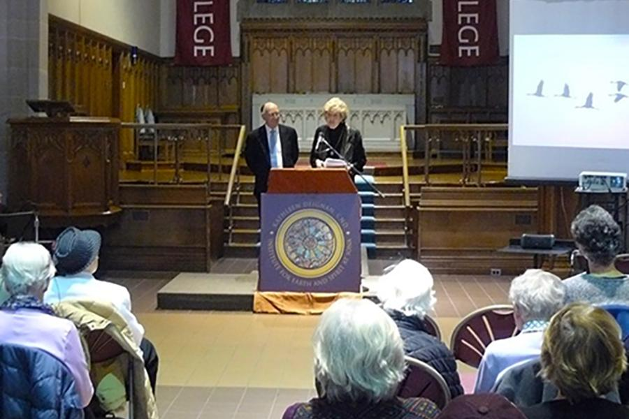 Mary Evelyn Tucker and John Grim discuss Thomas Berry's biography.