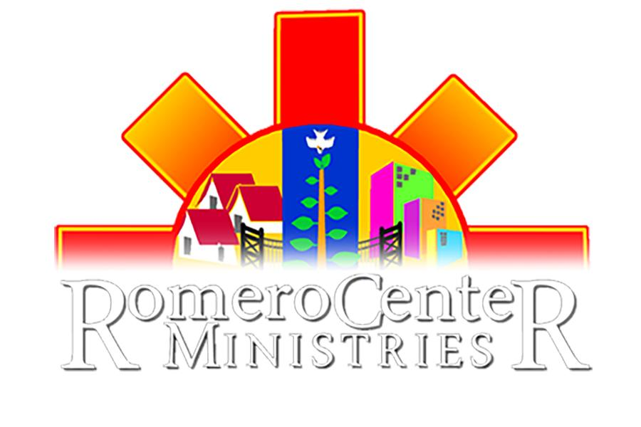 The logo for the Romero Center Ministries.