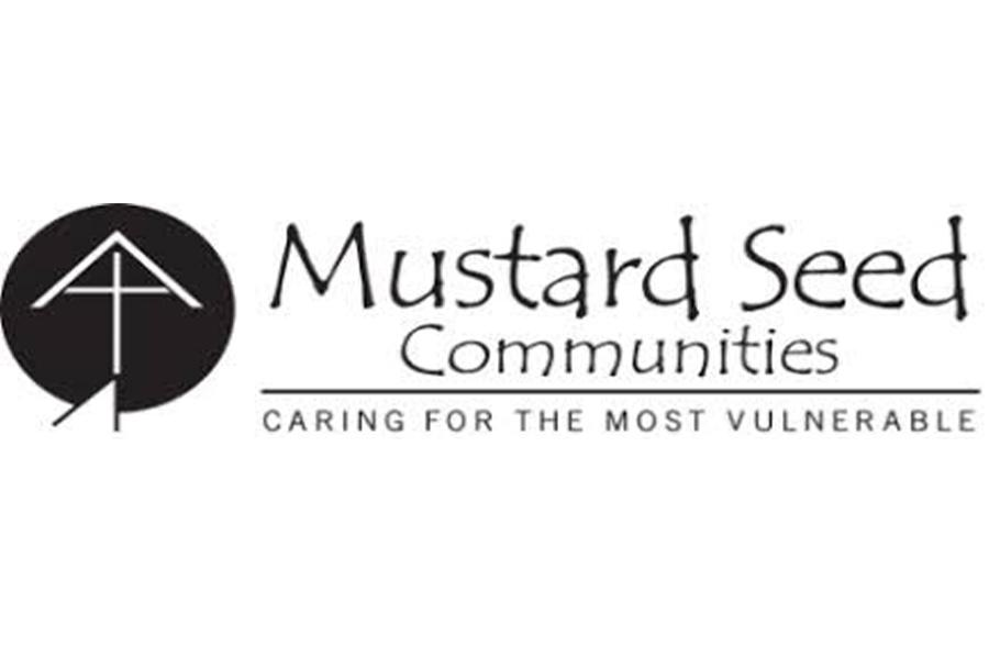 The logo for the Mustard Seed Communities.
