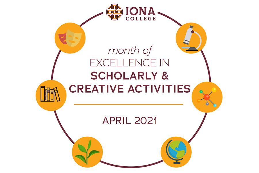 Iona Scholars Month April 2021 Flyer