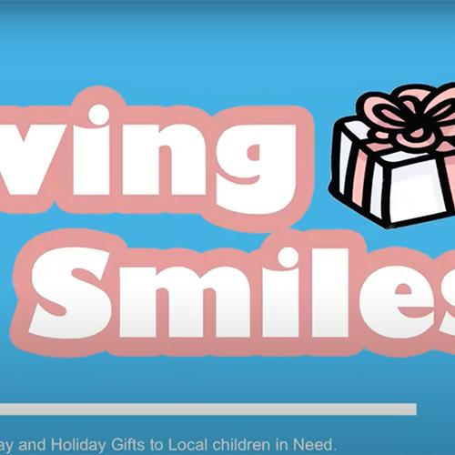 Giving Smiles - Send birthday and holiday gifts to local children in need.