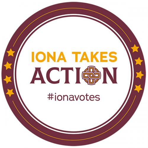 Iona Takes Action #ionavotes