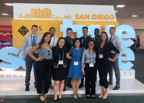 Chemistry/Biochemistry students at the 2019 ACS National Meeting.