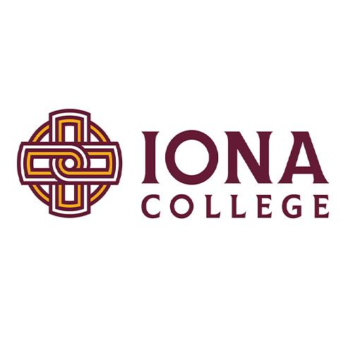 The Iona College logo on a white background