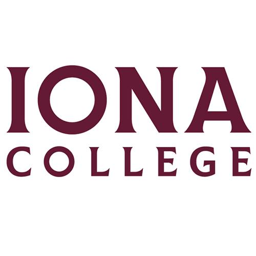 Iona College text only logo.