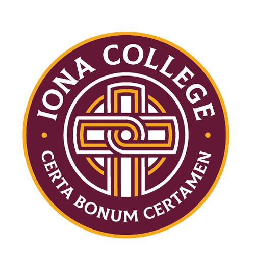 Iona College seal.