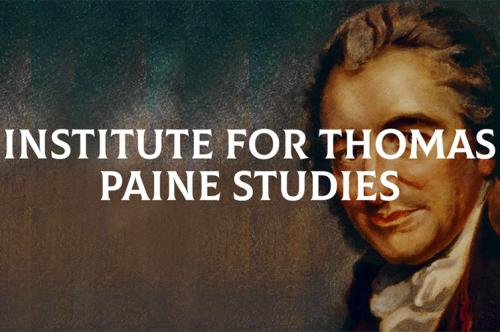The banner image for ITPS (Institute of Thomas Paine Studies)