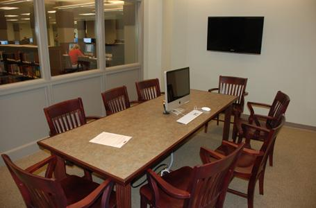 Ryan Library Group Study Room