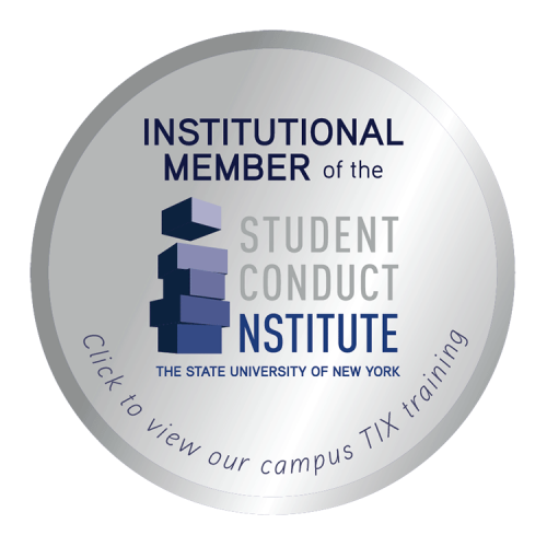 Institutional Member of the Student Conduct Institute - the State University of New York
