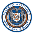 New York County District Attorney logo.