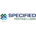 Specified Testing Labs logo.